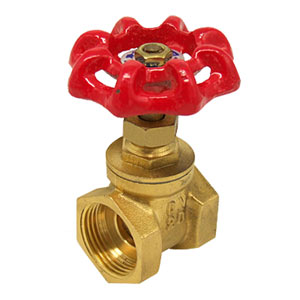 Water valve or gate valve