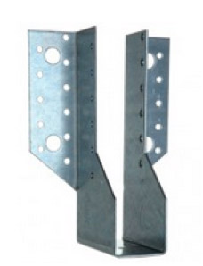 Heavy duty face fix joist hanger