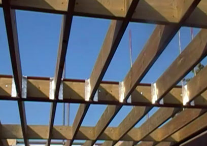 How To Use Joist Hangers Using Rafter Hangers And Jiffy