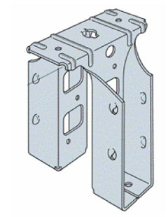 Saddle joist hanger