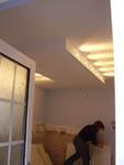 Kitchen Light Box showing lumination effect on room