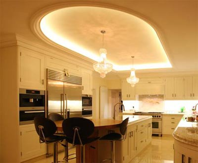 Elegant lighting solution for the kitchen