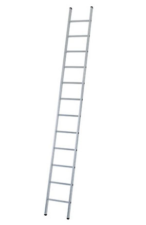 Industrial 8 rung single ladder
