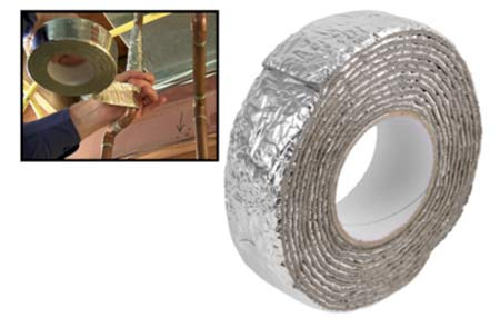 Pipe wrap insulation tape