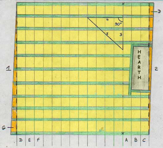 Wonderful Floor Plan Of Floor Joists