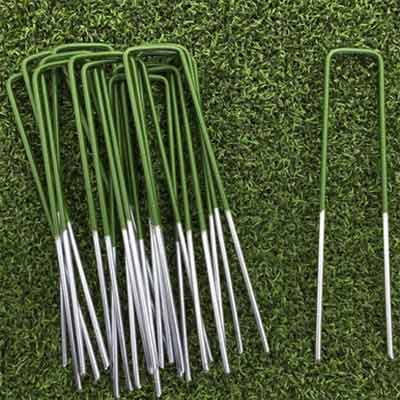 U-pins for fixing artificial grass