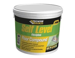 Self level compound tub