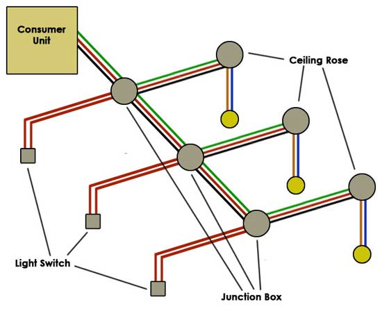 type two light circuit wiring a lighting circuit how to wire a light diy doctor wiring diagrams for lighting circuits at eliteediting.co