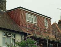 Completed loft conversion project