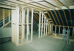 Construction of frame work