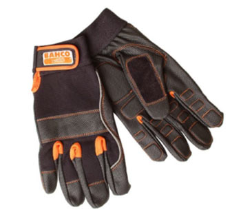 Sturdy work gloves