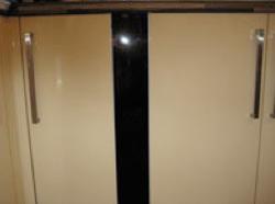 Kitchen cupboard filler panel