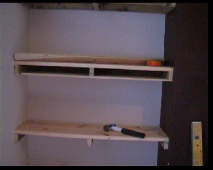 Shelving - How to Build a Set of Shelves Including How to Make Shelves ...