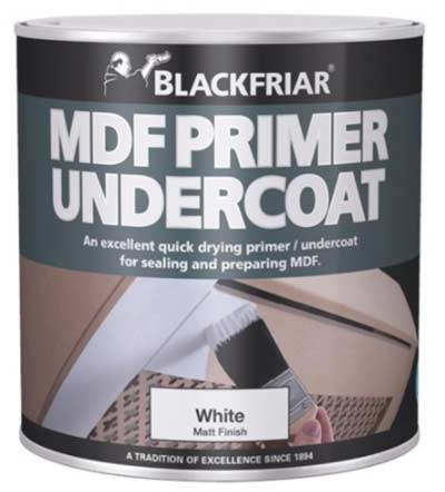 Blackfriar MDF undercoat