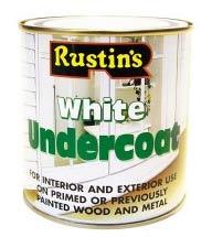 Rustin's White Undercoat