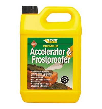 Everbuild accelerator and frostproofer