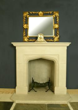 New traditional fireplace