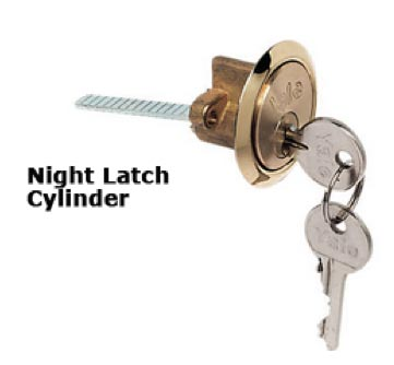Night latch cylinder