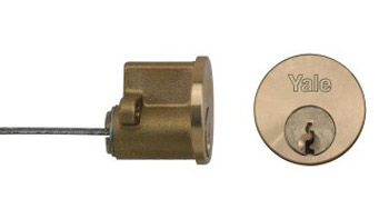 Replacement cylinder night latch barrel