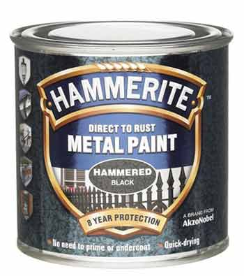 Hammered finish paint