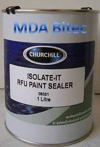 Cellulose paint sealer and isolator