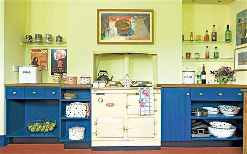 Painted Kitchen Units