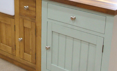 Lovely Painting Kitchen Units In Situ