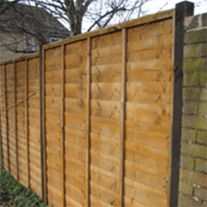 Complete run of fencing