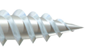 Super sharp point screw tip