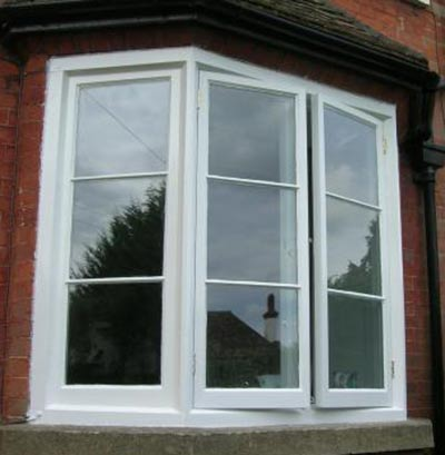 Traditional bay window