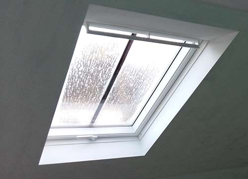 Velux window installed into loft conversion