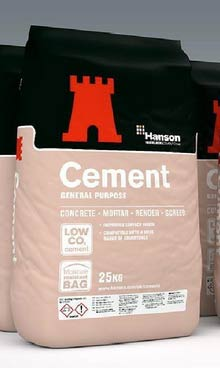 Cement for patio
