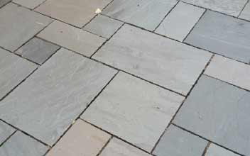 Indian Sandstone paving slabs in 4 sizes