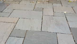 Natural Sandstone paving slabs