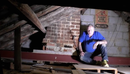 Loft conversion and chimney stack removal