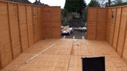 Permitted development outbuilding
