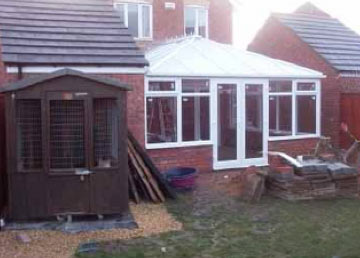 Conservatories and permitted development