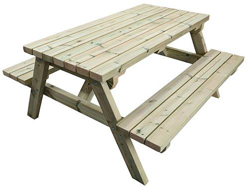 Standard 6 foot picnic bench