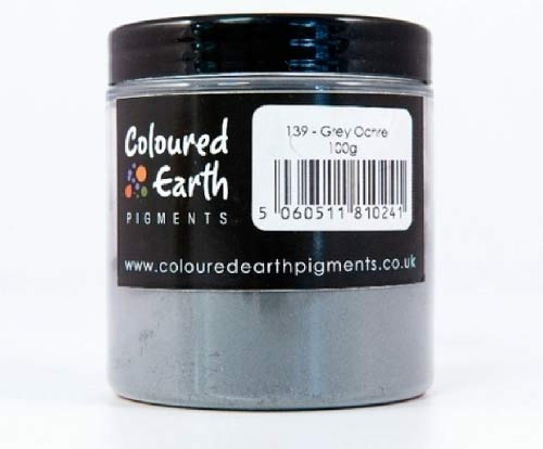 Natural earth pigments used to colour limewash