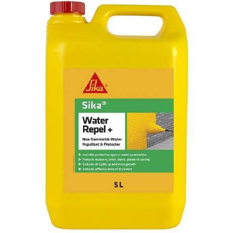 Water proofing admix for use with external render