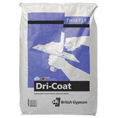 Dri-Coat plaster