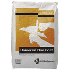 Universal One Coat plaster