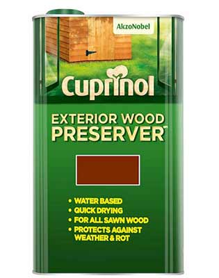 Cuprinol wood treatment