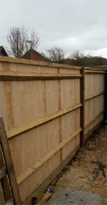 Fences can need planning permission
