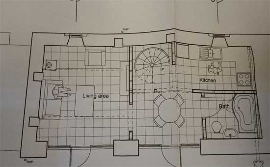 Plans for an extension