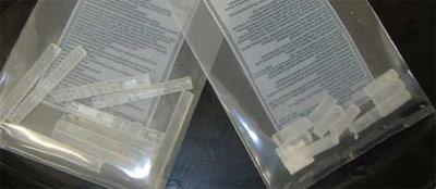 Boron rods and boron gel paste