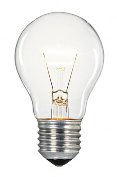 A common Tungsten bulb