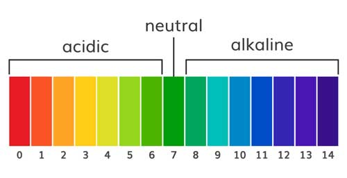 pH level indicator