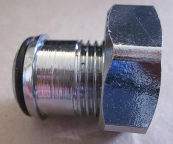 Radiator valve nut