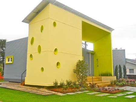 Contemporary exterior colour scheme applied to property